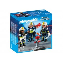 5366 team of firefighters - Playmobil