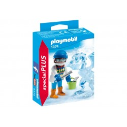 5374 artist sculptor from ice - Special Plus Playmobil