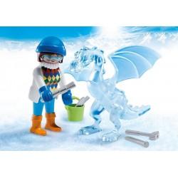 5374 - Artista Escultora de Hielo - Special Plus Playmobil