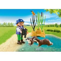 5376 navigateur d'enfant avec la loutre - Playmobil spécial de Plus