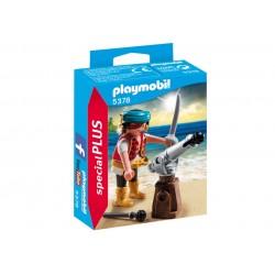 5378 - Pirata con Cañón - Special Plus Playmobil