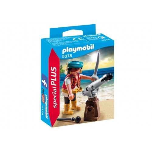 5378 pirate with cannon - Special Plus Playmobil