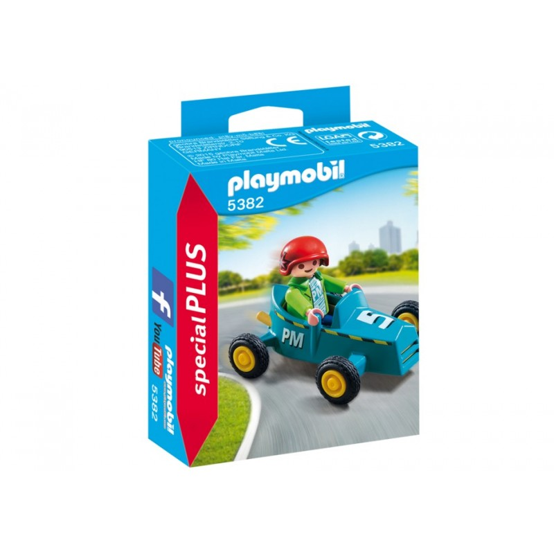 5382. child with Kart Retro - Special Plus Playmobil