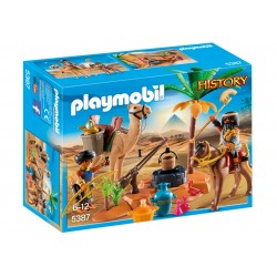5387 camp Egyptian desert - Playmobil