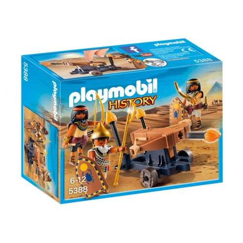 5388 Egyptians with fire crossbow - Playmobil