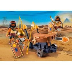 5388 egiziani con fuoco balestra - Playmobil