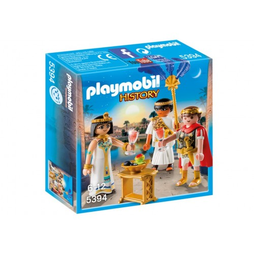 5395 Caesar and Cleopatra - Playmobil