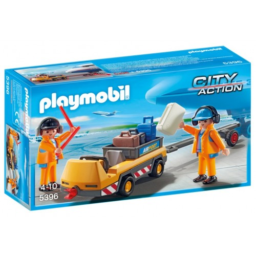 5396 tugboat airport luggage - Playmobil