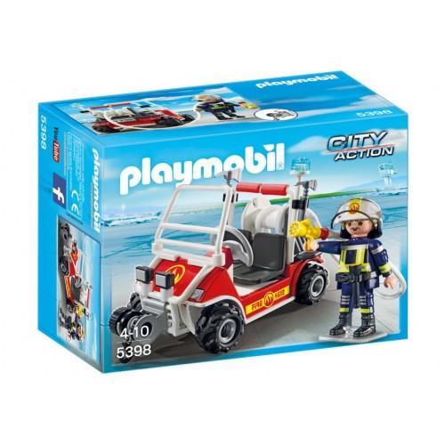 5398 - Coche Bomberos del Aeropuerto - Playmobil