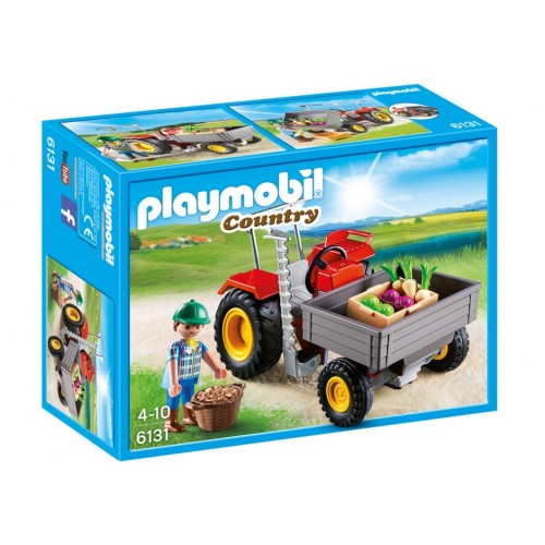 6131 tractor combine - Playmobil