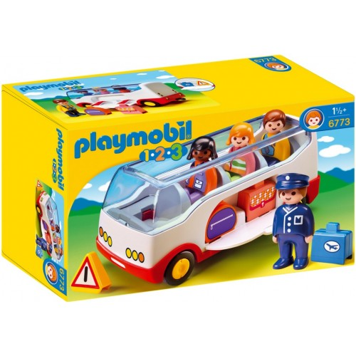 6773 great bus 1.2.3. -Playmobil