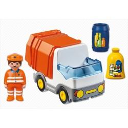 6774 garbage 1.2.3 - Playmobil truck