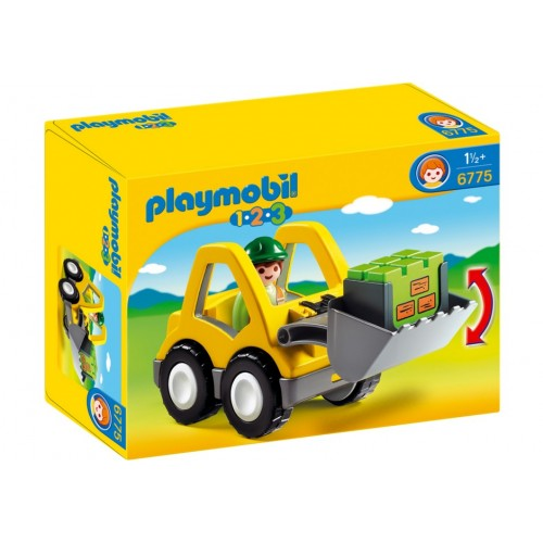 6775 - Excavadora 1.2.3 - Playmobil