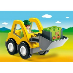 6775 excavator 1.2.3 - Playmobil