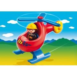 6789 elicottero di salvataggio 1-2-3 - Playmobil