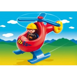 6789 helicopter rescue 1-2-3 - Playmobil