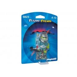 6823 spazio - Playmo-Friends Playmobil guerriero