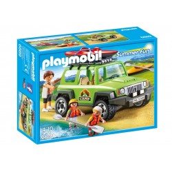 6889 car Camping with Kayak - Playmobil