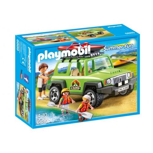 6889 auto campeggio con Kayak - Playmobil