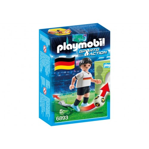 6893 footballer of Germany - Playmobil