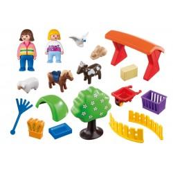 6963 small Zoo 1.2.3 - Playmobil
