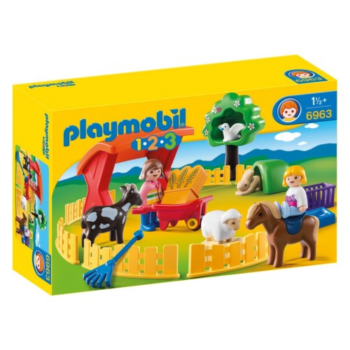 6963 small Zoo 1.2.3 - Playmobil