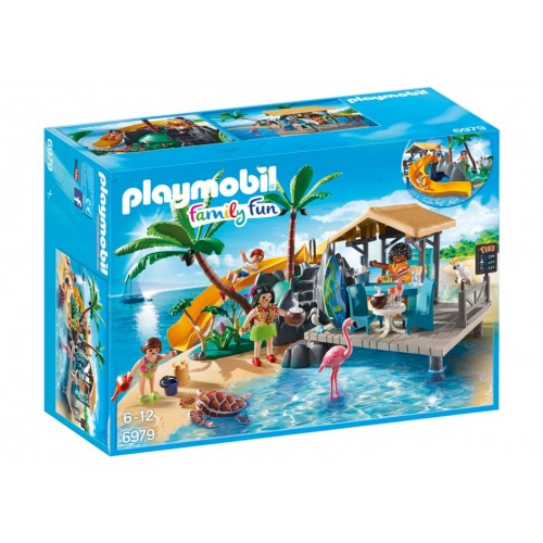 6979 - Isla Tortuga - Resort Privado - Playmobil