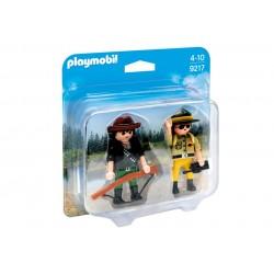 9217 - Duopack Ranger et braconnier - Playmobil