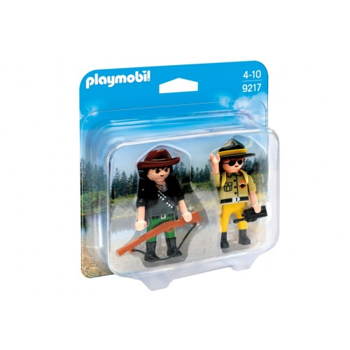 9217 - Duopack Ranger and poacher - Playmobil