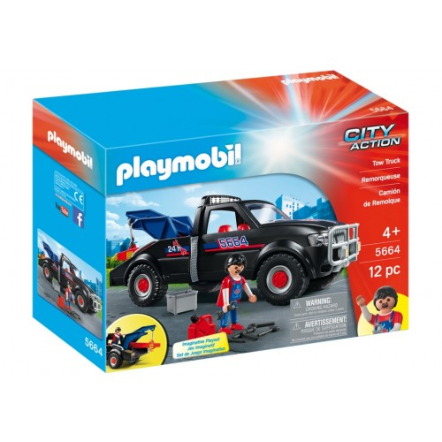 5664 crane assistance road - exclusive USA - Playmobil