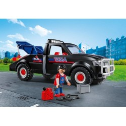 5664 - Grúa Asistencia Carreteras - EXCLUSIVO USA - Playmobil