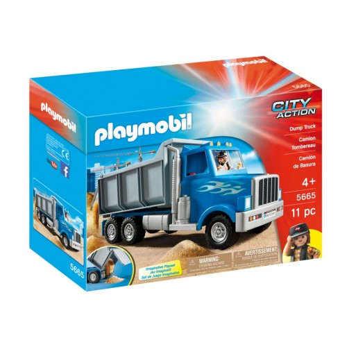 5665 dump - exclusive truck USA - Playmobil