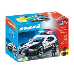 5673 car of police - exclusive USA - Playmobil