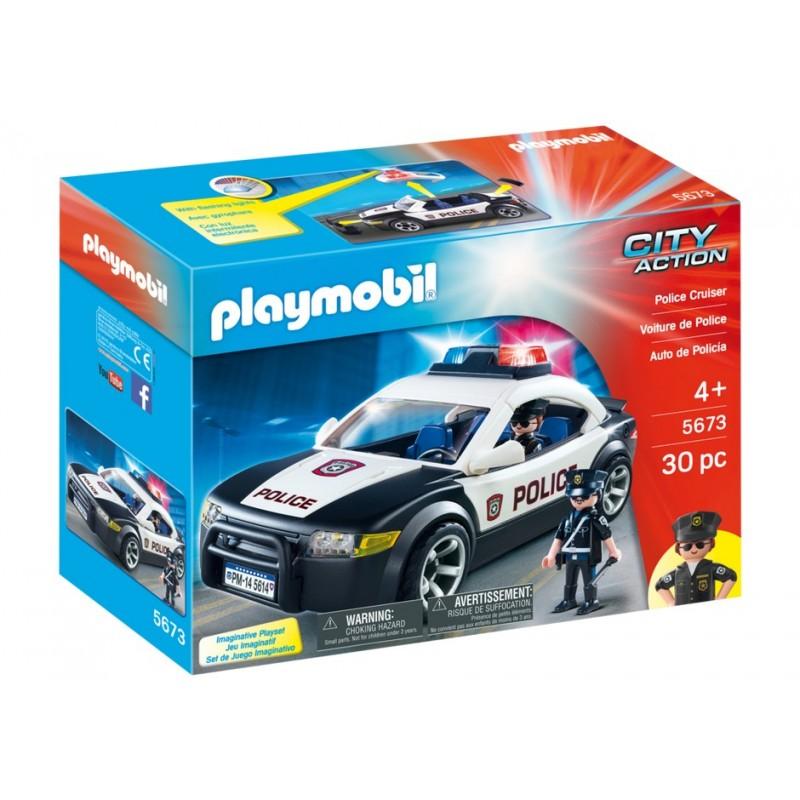 5673 coche de polic a exclusivo usa playmobil playmobileros tienda de playmobil nuevo. Black Bedroom Furniture Sets. Home Design Ideas