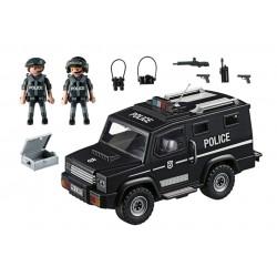 5674 - Vehículo Táctico Policía - EXLUSIVO EEUU - Playmobil