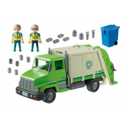 camion di immondizia 5679 - esclusiva noi - Playmobil