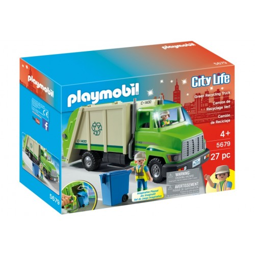 5679 garbage truck - exclusive us - Playmobil
