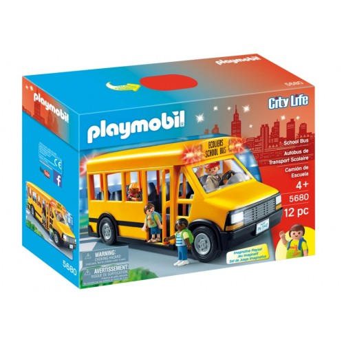 5680. school bus - exclusive us - Playmobil