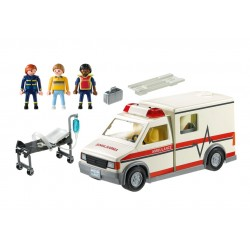 5681 ambulance - exclusive USA - Playmobil