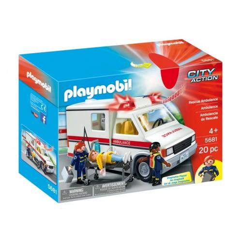5681 - Ambulancia - ESCLUSIVO USA - Playmobil
