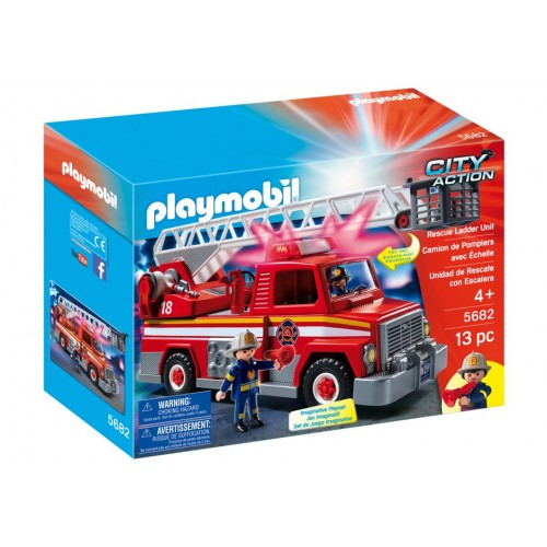 5682 - Camión Rescate Bomberos - EXCLUSIVO USA - Playmobil