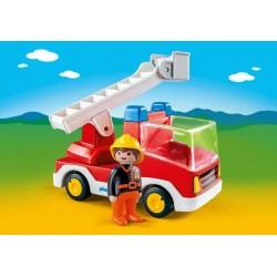 6967 firetruck 1.2.3 - Playmobil