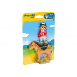 6973 Jinente with horse 1.2.3 - Playmobil