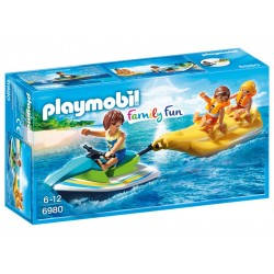 6980 - Moto de Agua con Flotador Plátano - Playmobil