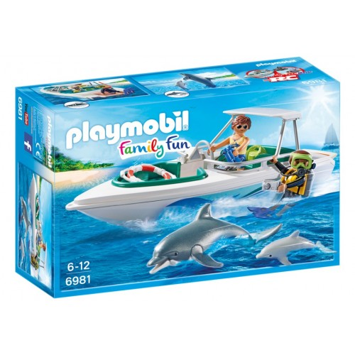6981 team of dive boat - Playmobil