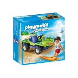 6982 surfista con Quad - Playmobil