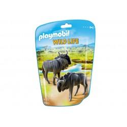 6943 - Ñus Sabana Africana - Wild Life Playmobil