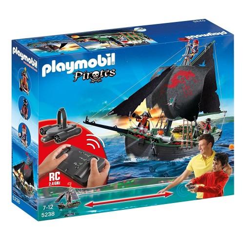 5238 - Barco Pirata - Control Remoto y Motor Incluido - Playmobil