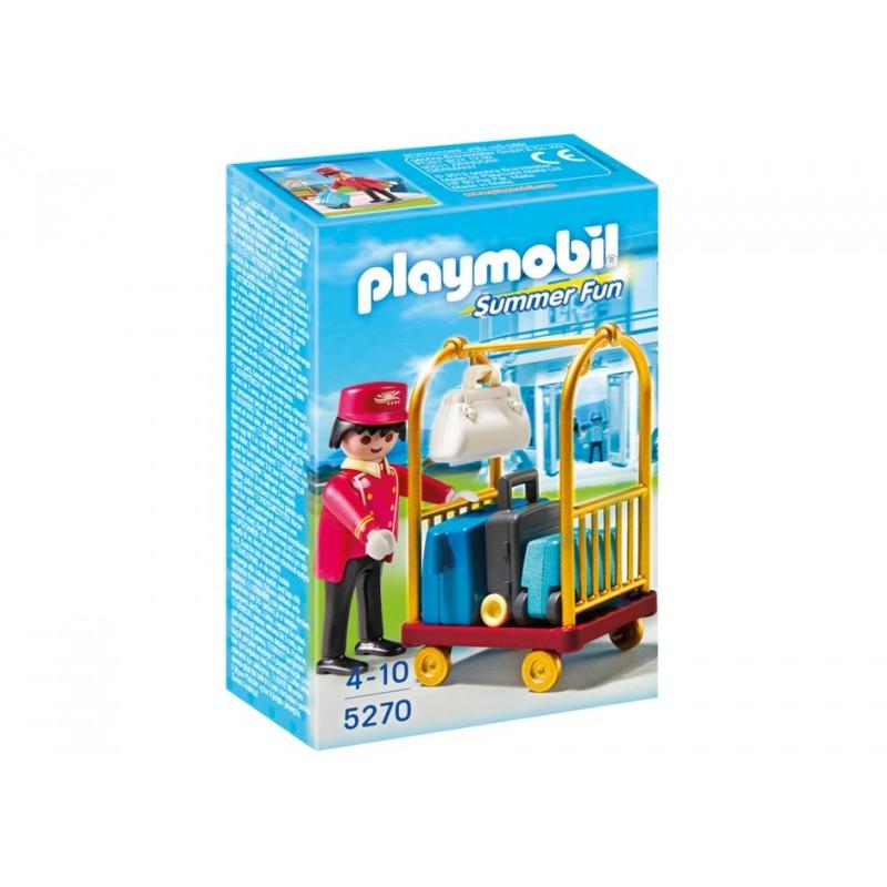 5270 - Botones Hotel Maletas - Playmobil