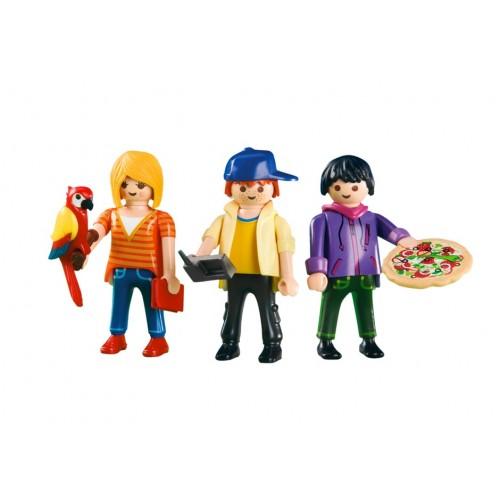 6298 - Los 3 Playmos Urbanos - Playmobil